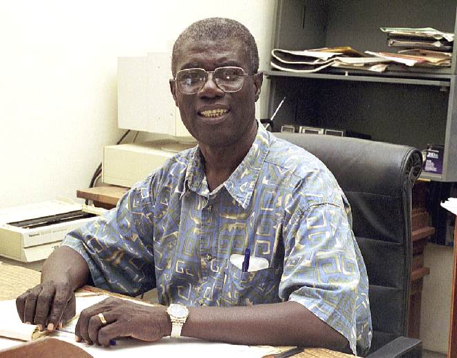 Dr. Samuel Obeng - Ghana Bible College - October 2000